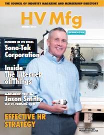 HVMfg Magazine cover