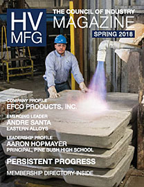 HVMFG 2018 Spring Issue cover