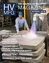 HVMFG 2018 Spring Issue cover