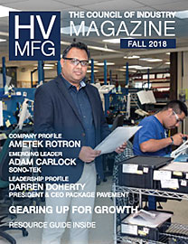 HV Mfg Magazine Fall 2018 cover