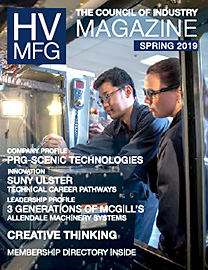 HVMfg Magazine 2019 Spring issue cover thumbnail