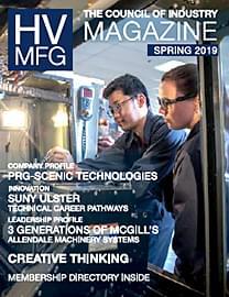 HVMfg Magazine 2019 Spring issue cover thumbnail