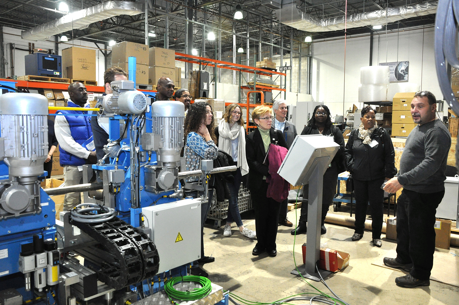 Educators visit MAC